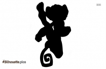 Kung Fu Panda Master Tigress Silhouette