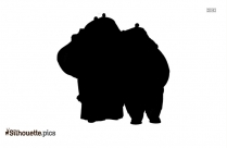 Kung Fu Panda Movie Character Silhouette