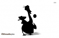 Kung Fu Panda Mr Ping Silhouette Image And Vector