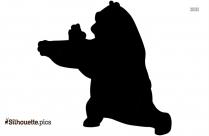 Kung Fu Panda PNG Silhouette