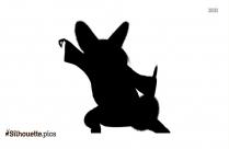 Kung Fu Panda Shifu Character Silhouette