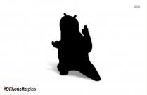 Kung Fu Panda Silhouette Clip Art