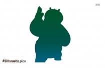 Kung Fu Panda Silhouette Image