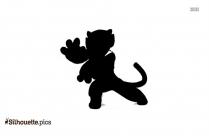 Porky Pig Logo Vector Silhouette