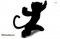 Kung Fu Panda Tigress Clipart Silhouette
