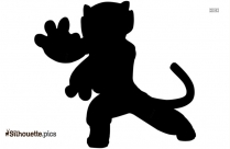 Kung Fu Panda Tigress Silhouette Clipart