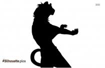 Kung Fu Panda Tigress Silhouette Vector And Graphics