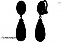 Kunzite Earrings Silhouette