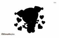Chemist Cartoon Silhouette Illustration