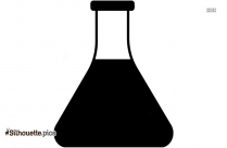 Erlenmeyer Flask Silhouette Image Free Download