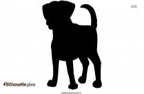 Labrador Retriever Silhouette Picture