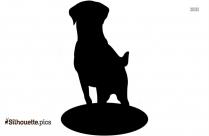 Beagle Silhouette Art