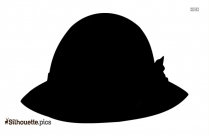 Ladies Hat Silhouette