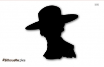 Pork Pie Hat Silhouette Clip Art