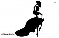 African Dance Silhouette Vector