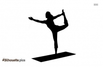Yoga Fitness Silhouette Image And Vector