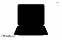 Laptops Vector Silhouette