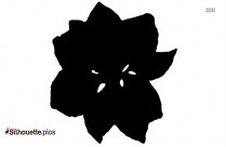 Larkspur Flower Silhouette Vector And Graphics