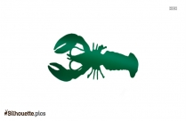 Cartoon Larry The Lobster Silhouette Drawing