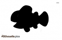 Big Tuna Fish Silhouette