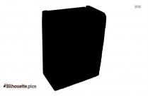 Laundry Hamper Silhouette Clip Art