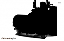 Lawn Plugger Silhouette Image And Vector