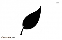Free Leaf Abstract Silhouette