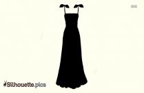 Leaf Dress Silhouette