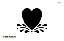 Free Valentine Heart Silhouette