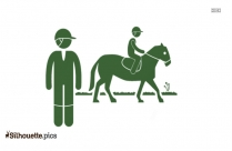 Leisure Horse Riding Silhouette