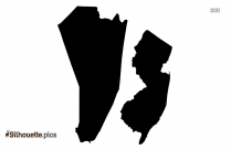 Leisure Village New Jersey Map Silhouette