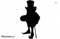 Gambit Character Silhouette Free Vector Art