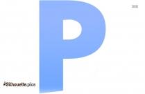 Letter P Clip Art Silhouette