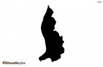 Liechtenstein Map Silhouette Vector