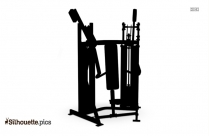 Life Fitness Silhouette Black And White