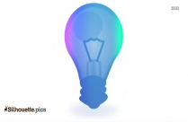 Light Bulb Clipart Silhouette