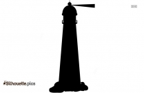 Light Tower Vector Silhouette