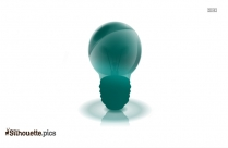Lightbulb Silhouette Painting Image