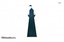 Lighthouse Cartoon Silhouette