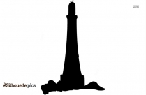 Lighthouse Sea Clipart Silhouette