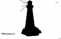 Lighthouse Clipart Silhouette Free