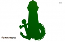 Lighthouse Clipart Vector Silhouette