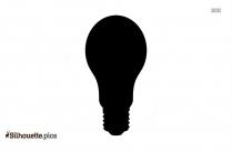 Lighting Bulb Silhouette