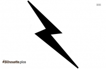 Lightning Clipart Silhouette Drawing