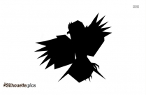 Flying Bird Silhouette Illustration