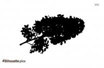 Poinsettia Flowers Silhouette Free Vector Art