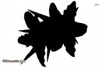 Strawberry Tree Flowers Symbol Silhouette