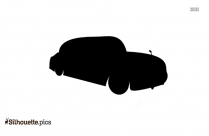 Vehicle Wheel Vector Silhouette