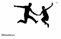 Lindy Hop Style Silhouette Picture