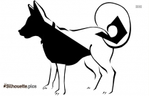 Line Drawing Of Animal Silhouette